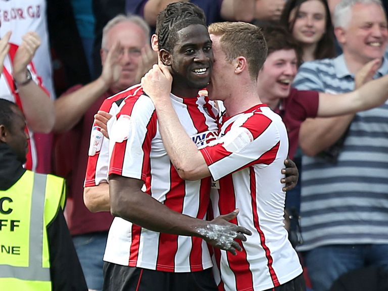 Clayton Donaldson scored twice for the Bees in normal time