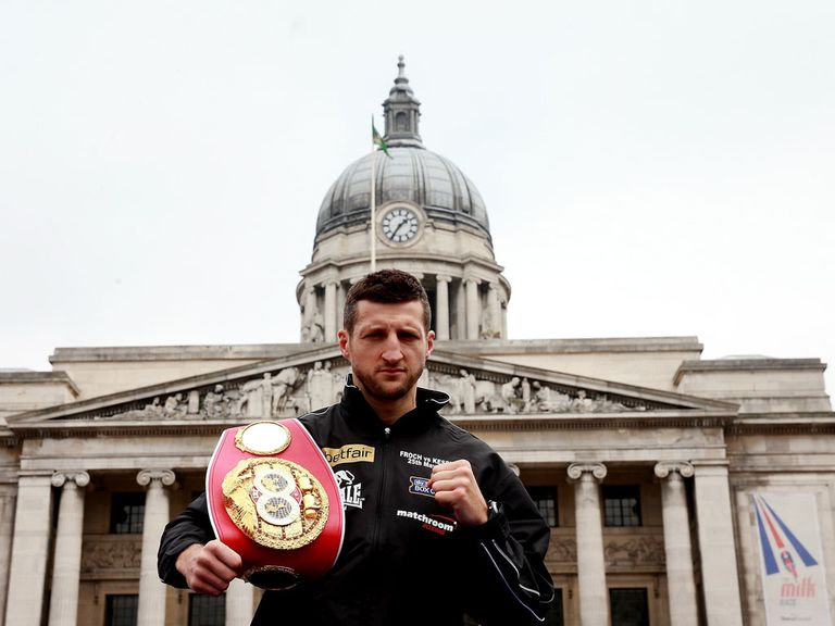 Froch: Building up to the Kessler rematch