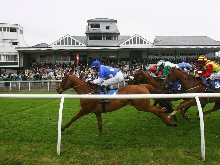 Catterick play host to the sole jumps meeting today