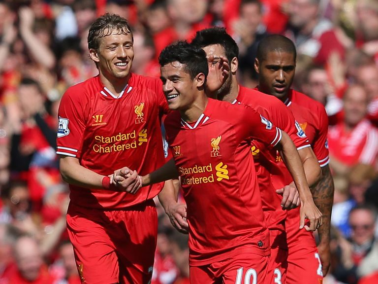 Philippe Coutinho: Caught the eye following January arrival at Anfield