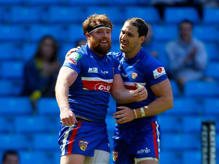Dean Collis (right): Misses the game against Wigan