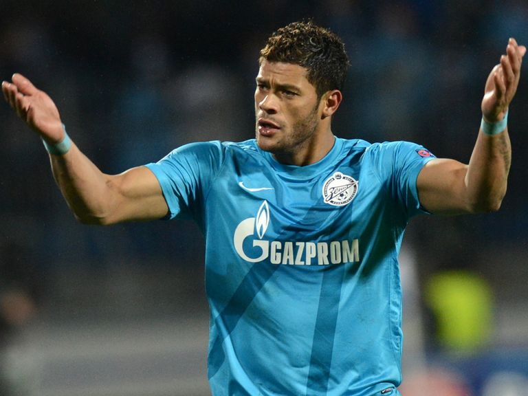Hulk: Said to be the subject of a £30m bid from Spurs