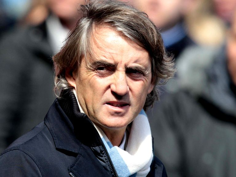 Roberto Mancini: Has been linked with an exit from Man City