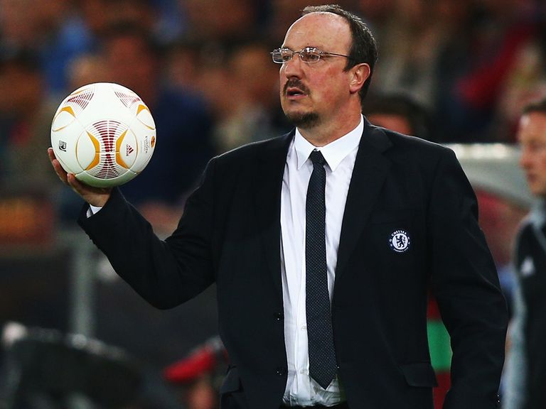 Rafael Benitez: His Chelsea face Manchester United on Sunday