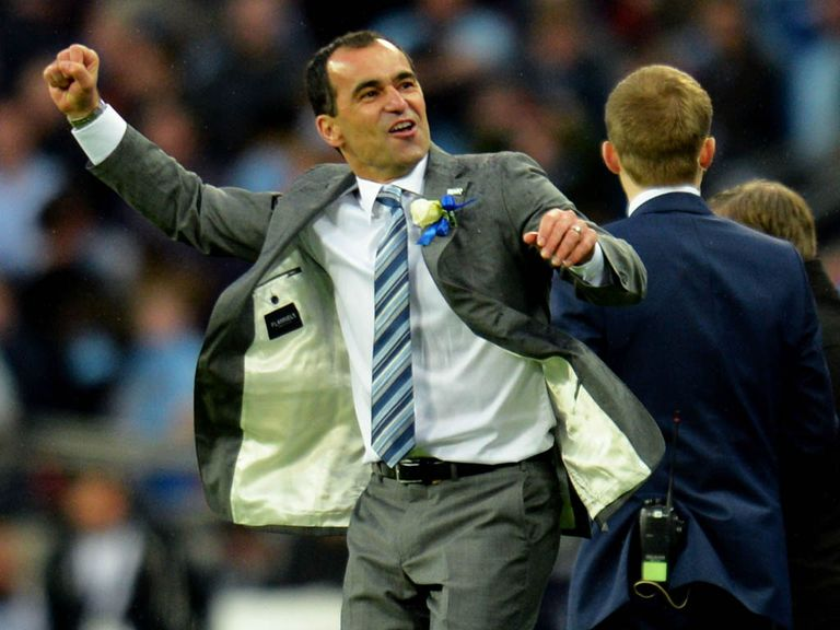 Martinez could be celebrating at Wembley again
