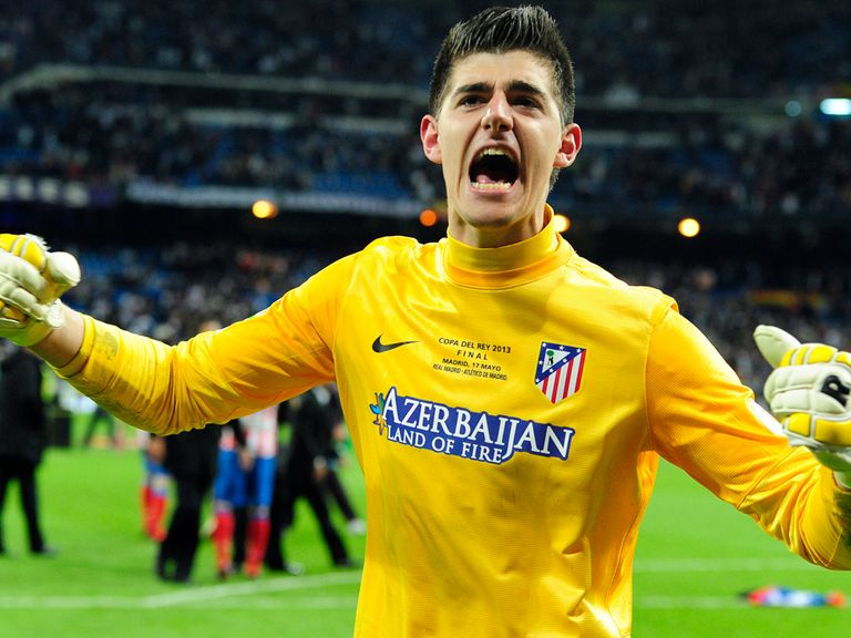 Thibaut Courtois: On loan at Atletico from Chelsea