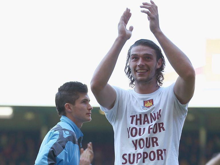 Andy Carroll: Thankful to West Ham after successful loan stint