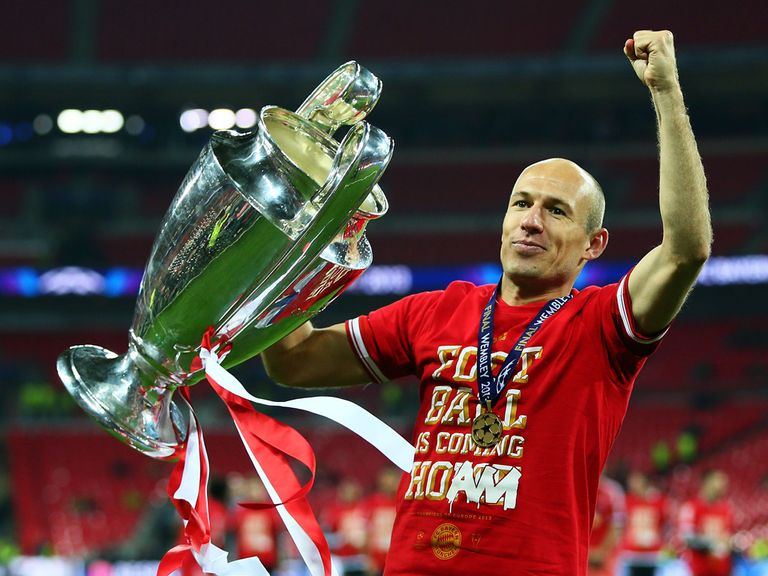 Arjen Robben: Planning to stay at Bayern Munich