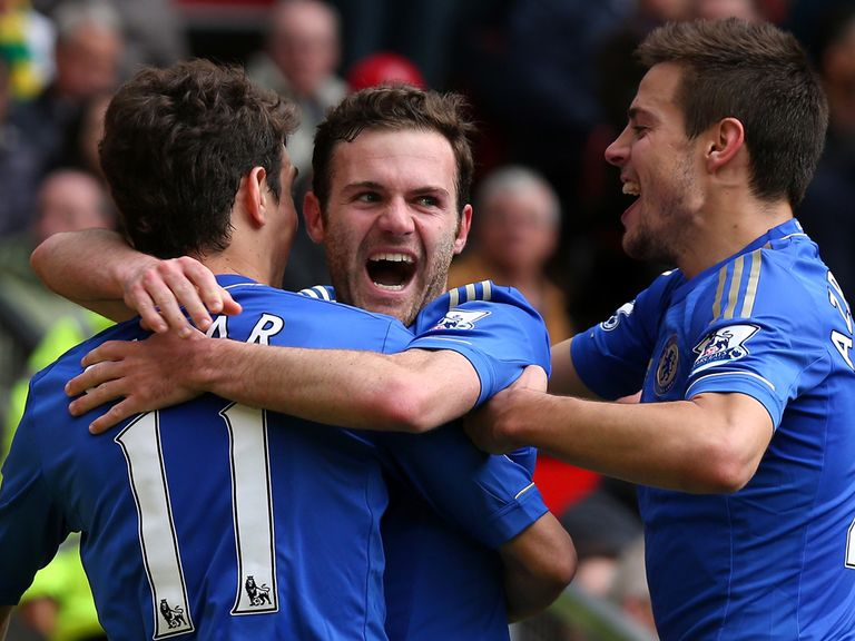 Juan Mata: Happy to stay at Chelsea