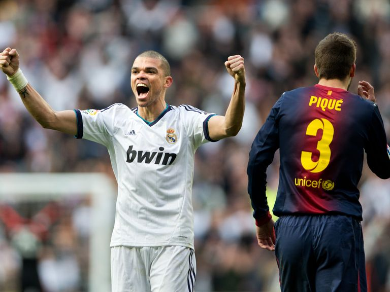 Pepe: Worked under City boss Manuel Pellegrini at Real Madrid