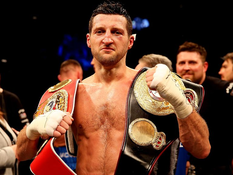 Carl Froch: No plans to hang up his gloves