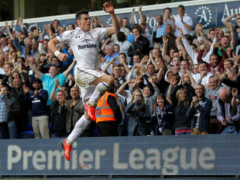 Gareth Bale: Looking to trademark his goal celebration