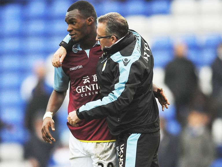 Paul Lambert: Hoping for more of the same from Christian Benteke