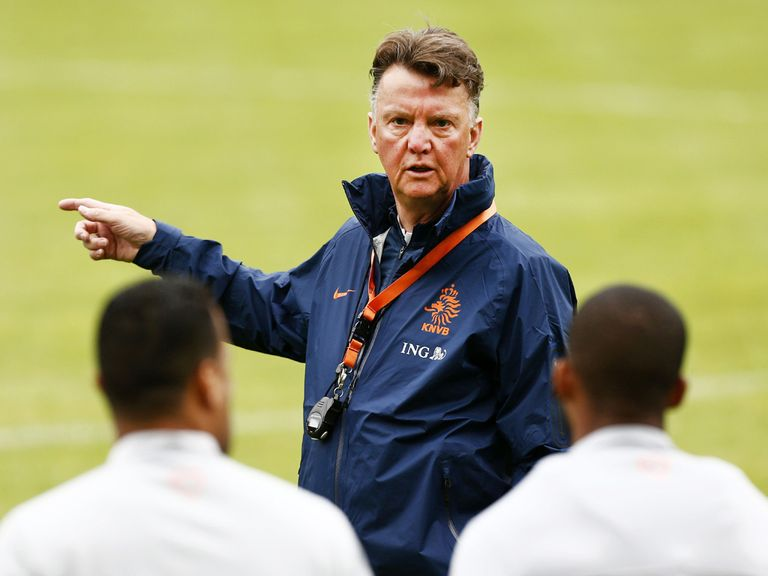 Van Gaal: Currently the Holland national coach