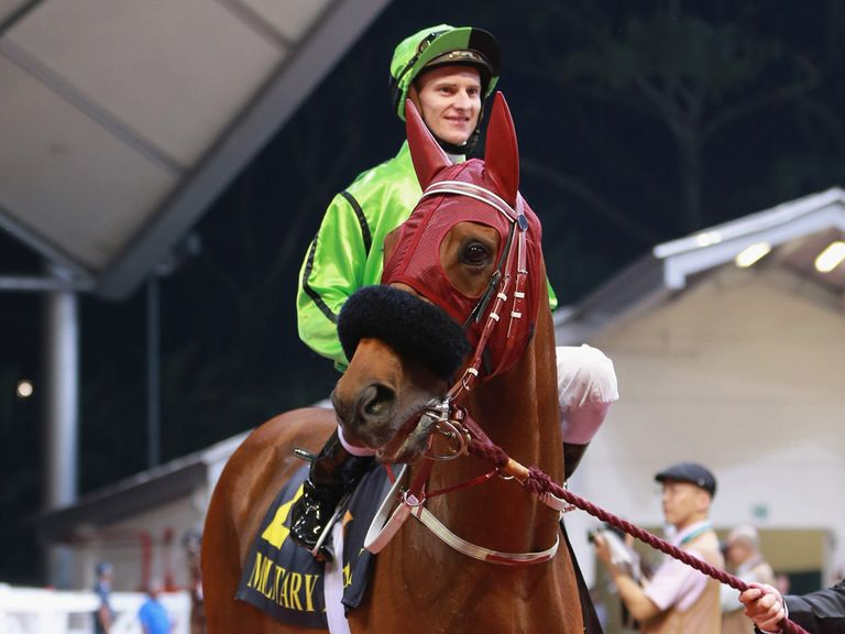 Military Attack is Alex's fancy for the Dubai World Cup