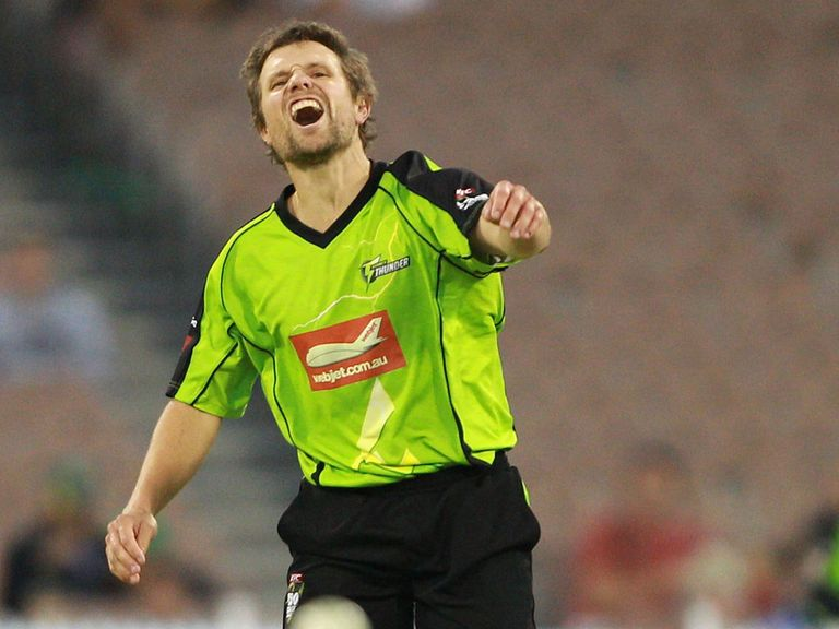 Dirk Nannes: The pace bowler has signed for Somerset