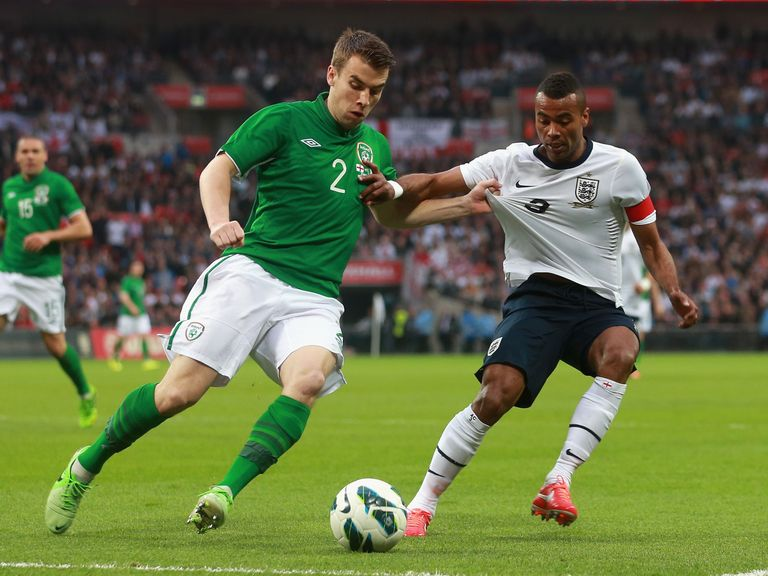 Seamus Coleman: Battles With Ashley Cole at Wembley