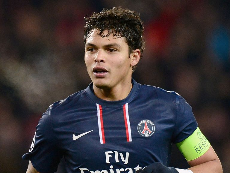 Thiago Silva: Is set to stay at PSG, according to his agent