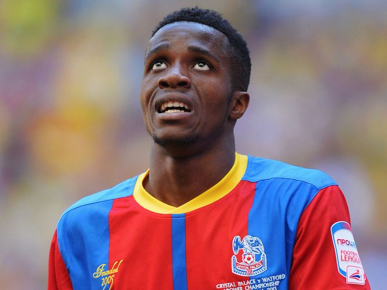 Wilfried Zaha: Tipped to succeed at Manchester United