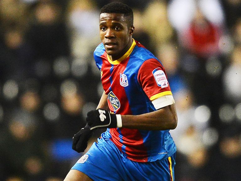 Wilfried Zaha: Now set for life with Manchester United