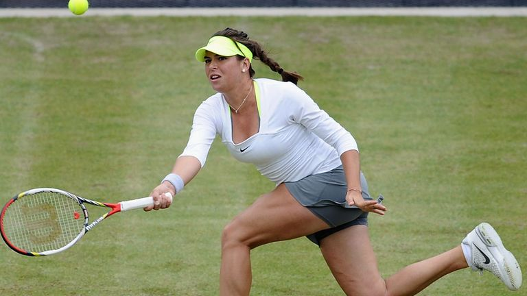 Ajla Tomljanovic out-played the defending champion Melanie Oudin at Edgbaston