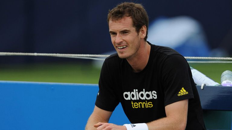 Andy Murray: Relaxed and confident ahead of Queen's