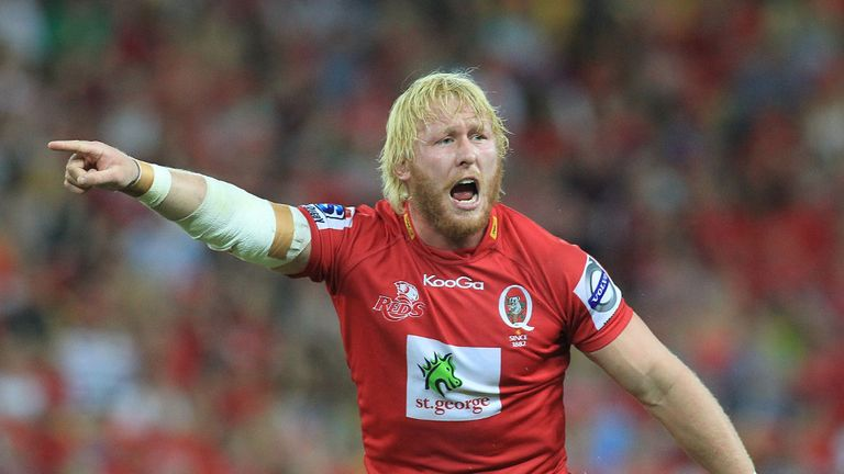 Beau Robinson: Reds flanker out of second date with Lions