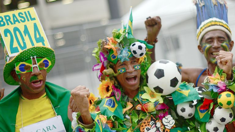 Brazil: Hosting World Cup next summer