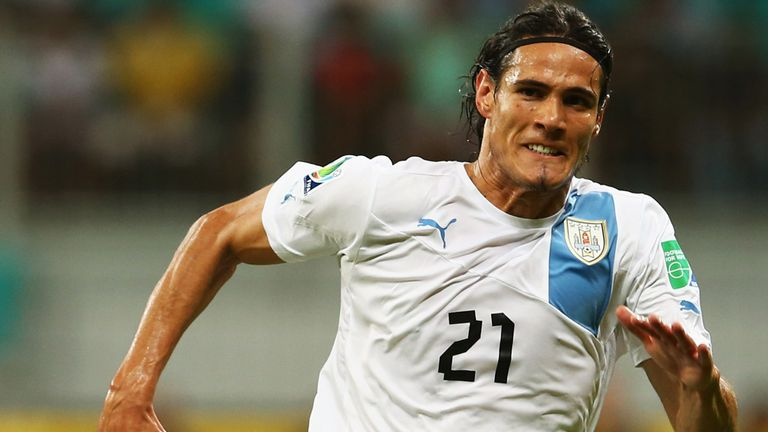 Edinson Cavani: The star striker has a £54million buyout clause in his contract