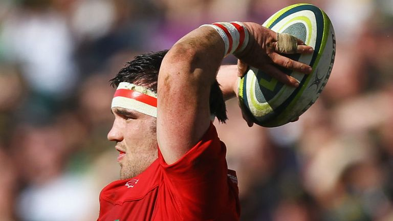 Emyr Phillips: Will make his Wales debut