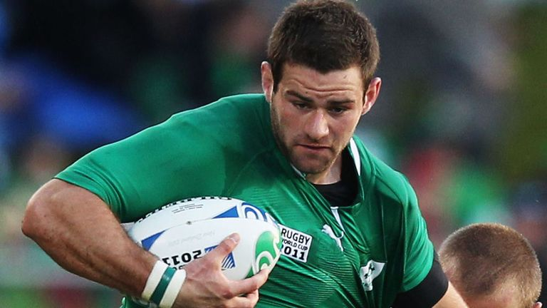 Fergus McFadden was Ireland's try-scoring hero in Toronto