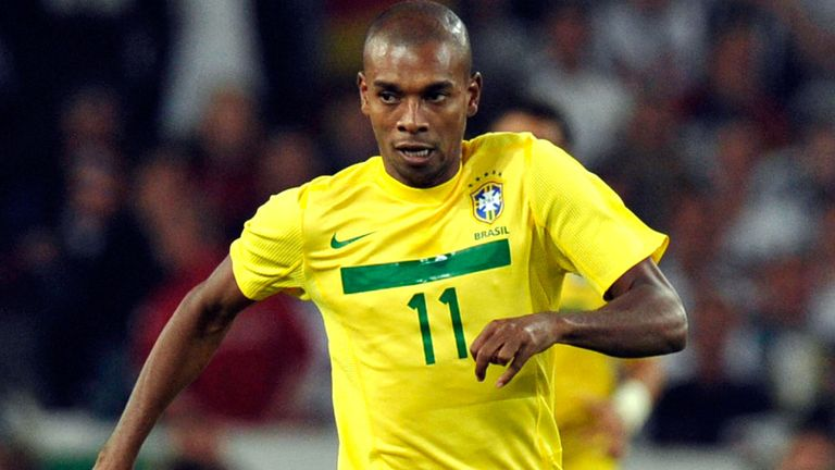 Fernandinho: Has only won five caps for Brazil