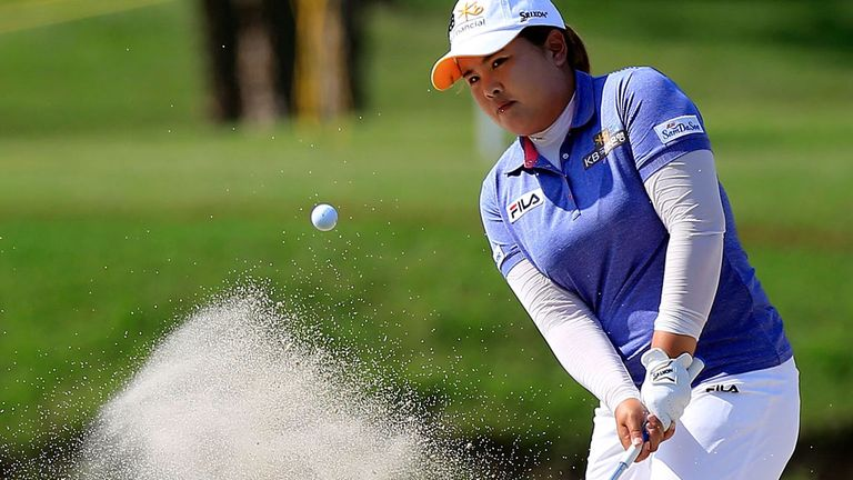 Inbee Park en route to victory in Arkansas on Sunday