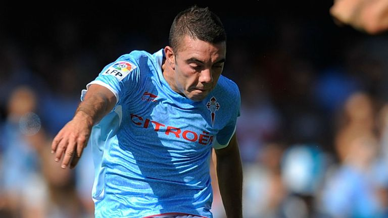 Iago Aspas: Set to become Liverpool's second signing of the summer