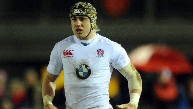 Jack Nowell: Starts on the wing for England Under-20s