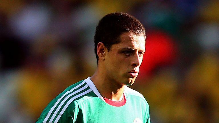 Javier Hernandez: Manchester United striker named in Mexico squad