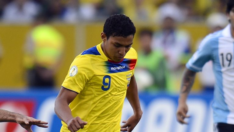 Jefferson Montero: Ecuador international wants move to England
