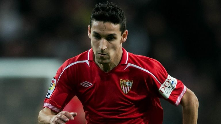 Jesus Navas: Content with a move to Manchester