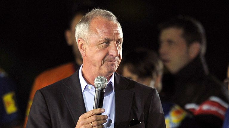 Johan Cruyff: Thinks Barcelona could sell Lionel Messi