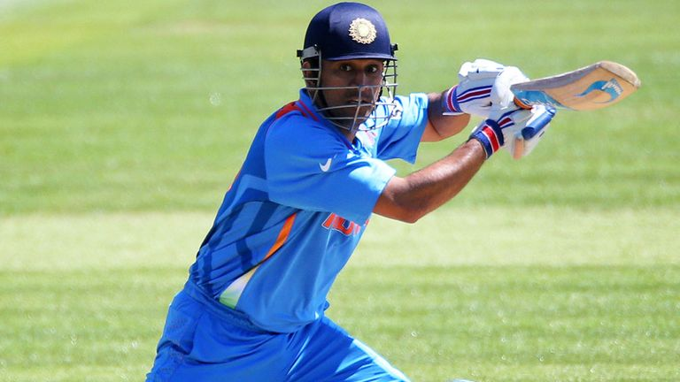 Dhoni: the India skipper cuts an impressive figure, says Bob