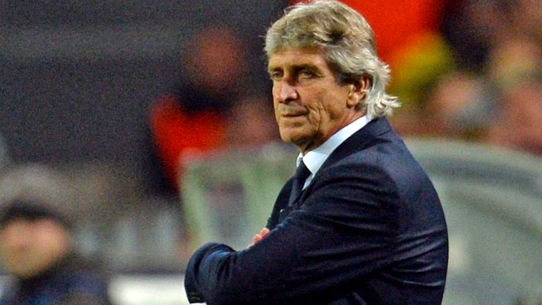 Manuel Pellegrini: Started work at Manchester City on Monday