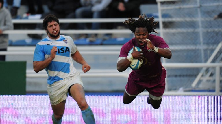 Marland Yarde: Two tries on England debut