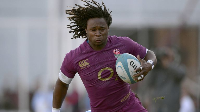 Yarde: starred for England in Argentina