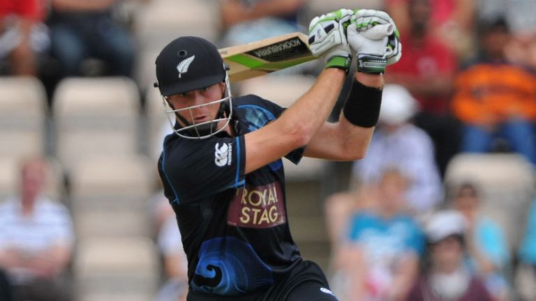 Martin Guptill: Set to miss the final game of New Zealand's tour with a hamstring injury