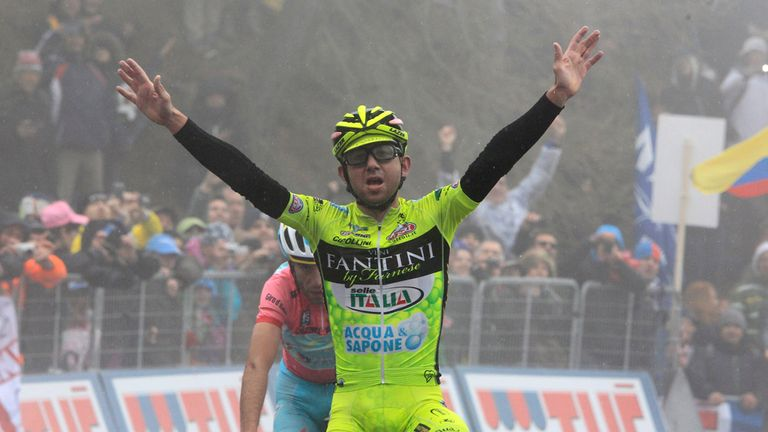 Mauro Santambrogio: Won 14th stage of the Giro d'Italia