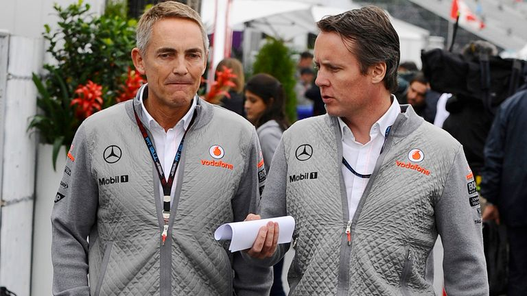Martin Whitmarsh: Pleased to see F1 has no shortage of 2014 options