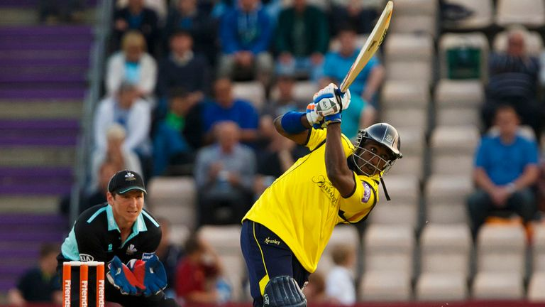 Michael Carberry's Hampshire face Lancashire in t20 quarters