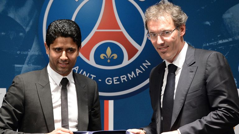 Laurent Blanc: Relishing his new job at PSG