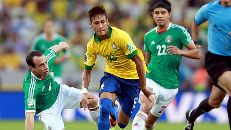 Neymar: Was again key for Brazil