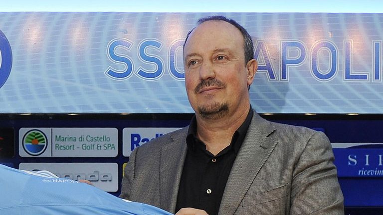 Rafael Benitez: First signing for Napoli